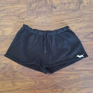 PINK Victoria's Secret Shorts- Small, Black